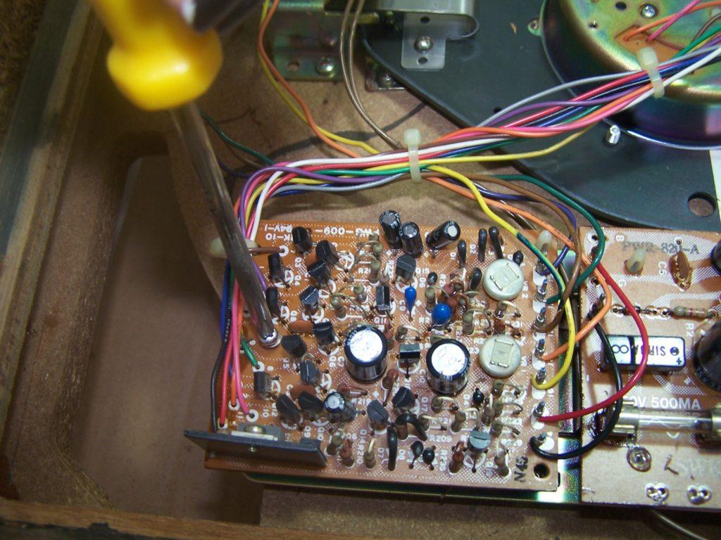 Desmontagem da PCI do motor.