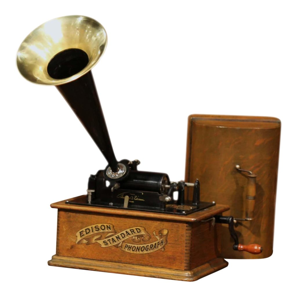 early-20th-century-model-a-edison-cylinder-phonograph-circa-1901-and-22-records-3459